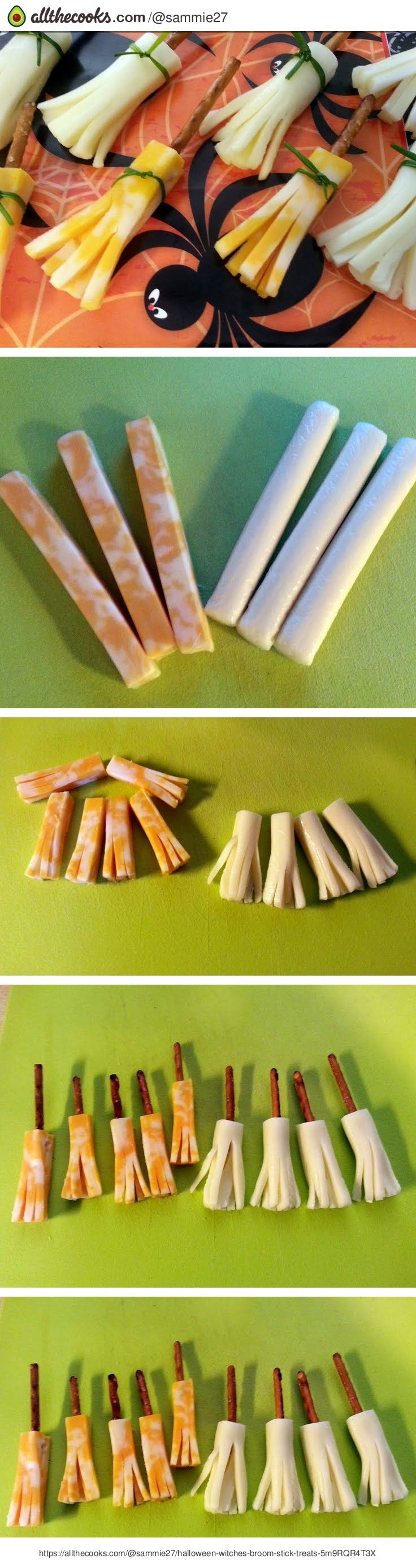 Halloween Witches Broom Stick Treats