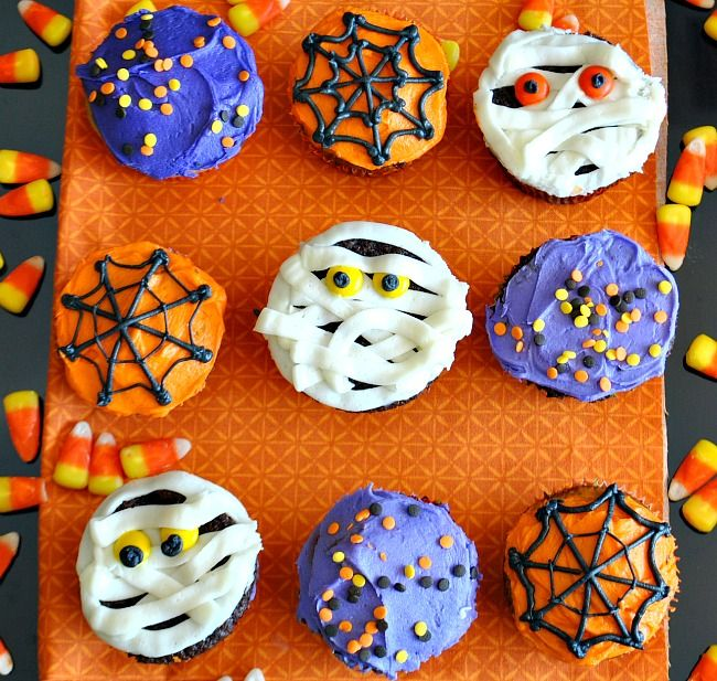 halloween cupcakes from suzanne you madethat