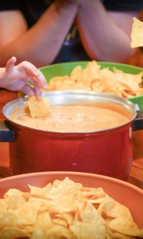 Davids Famous Nacho Cheese Dip