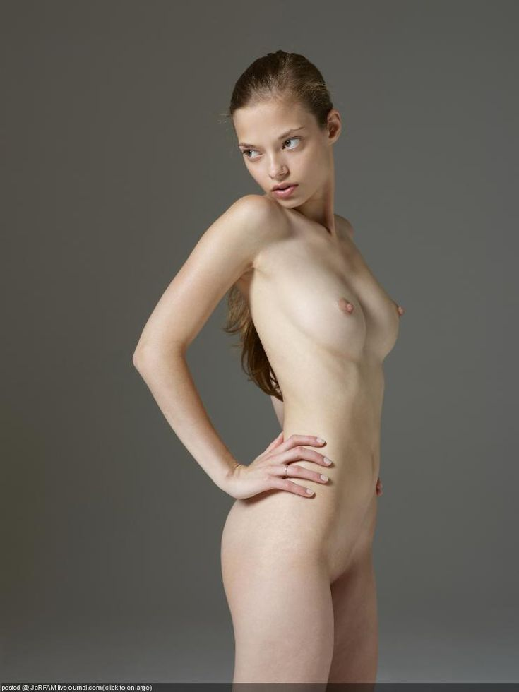naked girl poses nude Awkward