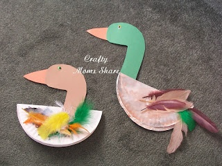more swan craft ideas