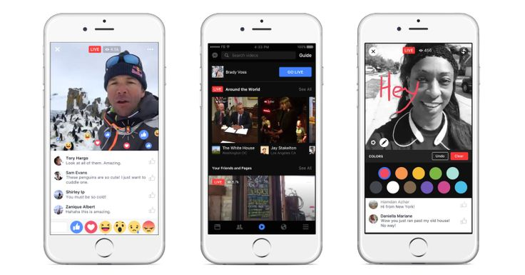 Facebook bets big on Live with new mobile video discovery tab  |  TechCrunch