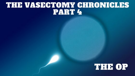 One Hull of a Dad: The Vasectomy Chronicles Part 4 - The Op