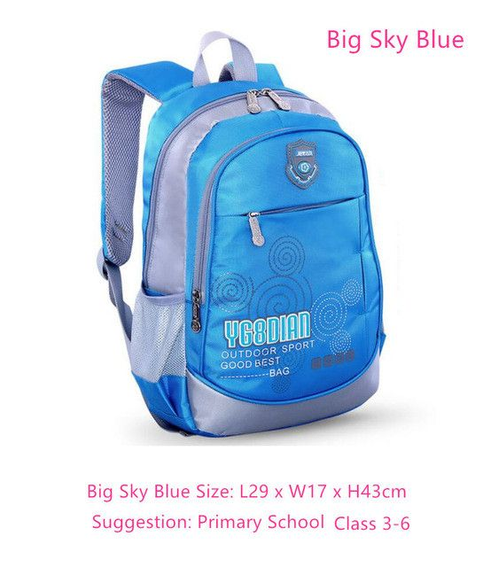 Sun Eight hot sale children pink bag girls school bags dark blue boys school backpack for kids student bag bookbag dropshipping