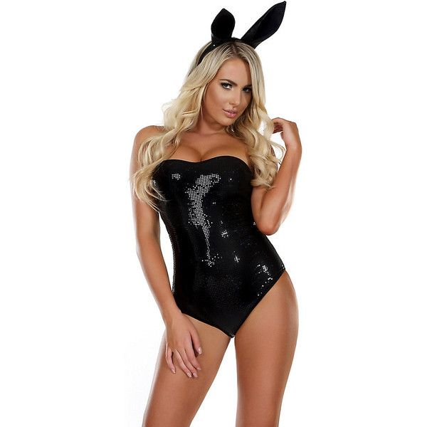 Adult High End Hare Sexy Costume ($65) ❤ liked on Polyvore featuring costumes, halloween costumes, multicolor, sexy costumes, sexy bunny costume, sexy adult costumes, bunny costume and colorful costumes