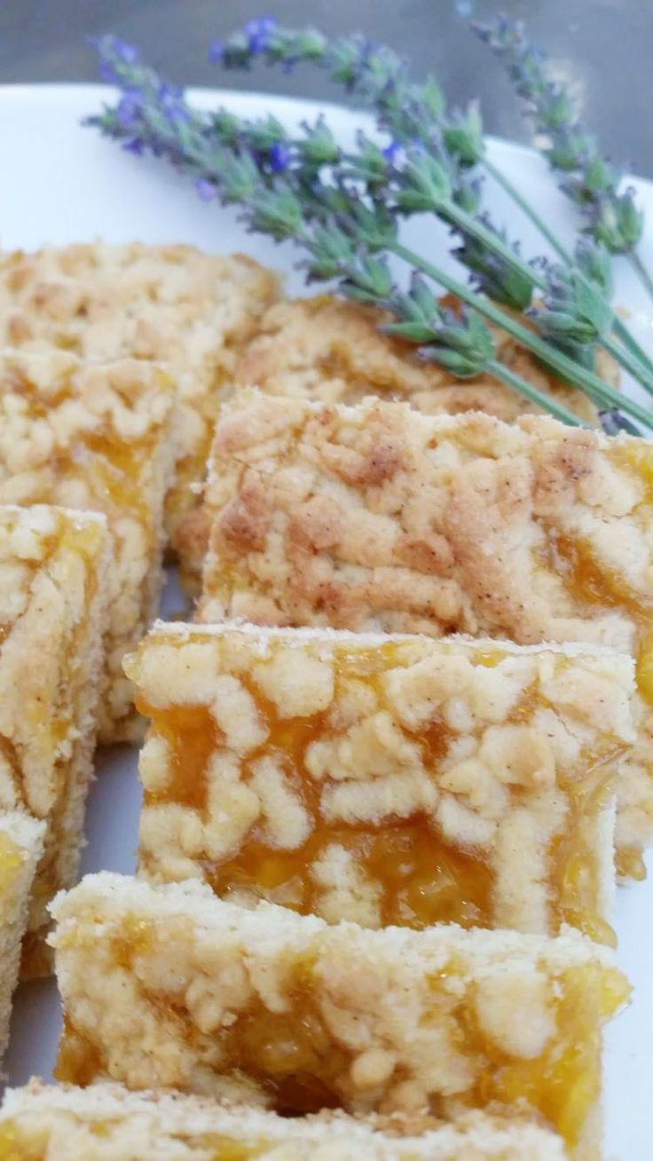 Konfytblokkies. Foto: Kos is oppie tafel se Facebookblad. Bestanddele:  125 g sagte botter 3/4 koppie suiker 2 eiers 3 koppies meel 4 teelepels bakpoeier 1/3 teelepel sout 2 teelepels vanieljegeursel 1 blik appelkooskonfyt  Metode:  Verhit jou oond tot 180 ºC. Meng botter en suiker saam. Voeg eiers en vanieljegeurselby. Meng die meel en bakpoeier en sout in 'n aparte bak. Voeg die eiermengsel om die beurt by die meelmengsel en meng goed saam. Bêre 1/3 van die deeg in die ...