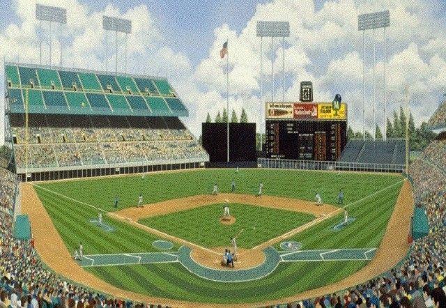 Metropolitan Stadium 1961-81 - MIN Twins