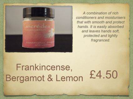 This citrus blend is really great for all types of skin. It is fantastic for young skin as it is a fresh cream that is fantastic for blemishes.  It is also very hydrating and great for mature tired skin. Frankincense is a fantastic oil that is known for its amazing properties since the dawn of time. It is amazing at helping and healing, and with bergamot and lemon this cream is a subtle citrus delight.