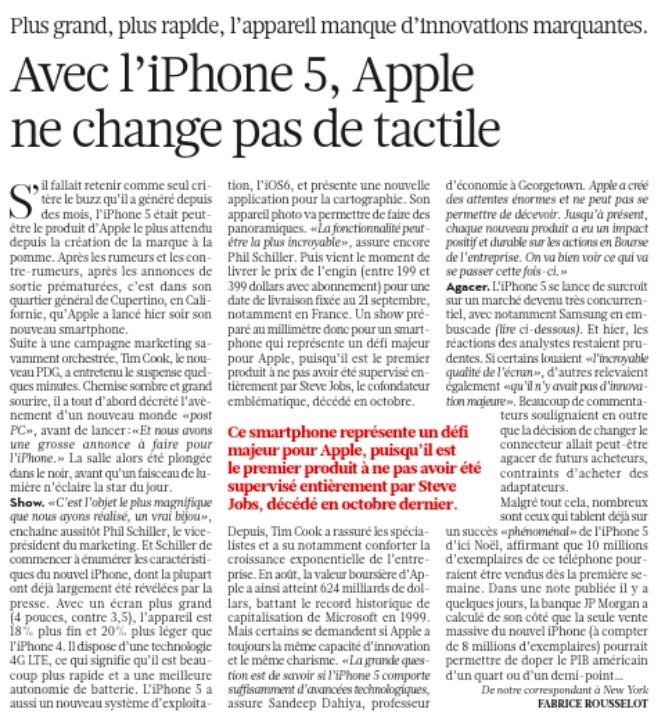 L' iPhone 5