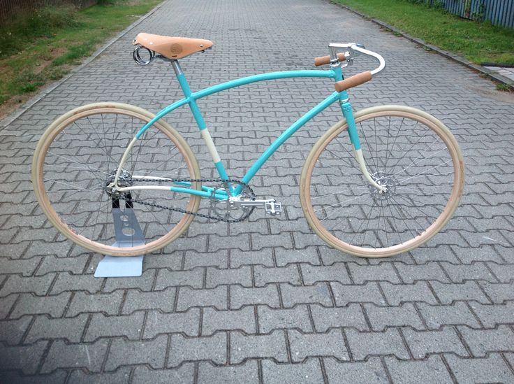 Rebuild OLYMPIA, very old frame from Italia