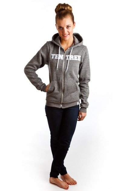 Hoodie by Ten Tree... 10 trees planted for each one sold. On Ethical Ocean. #eco
