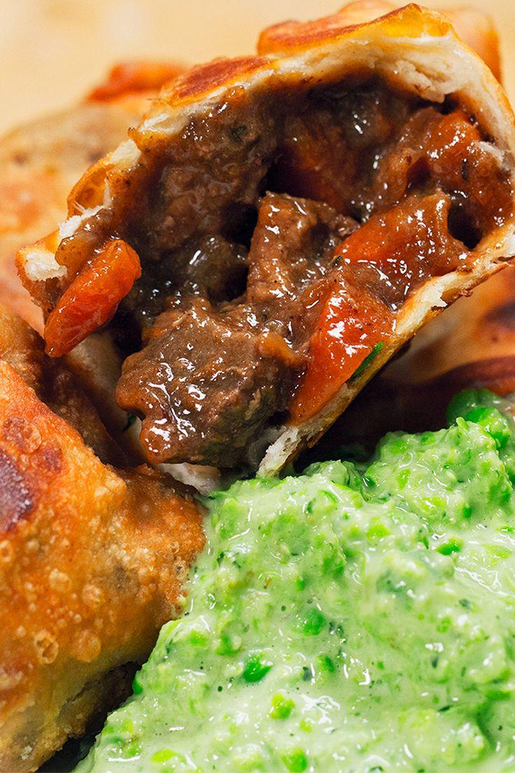 Steak And Ale Samosas