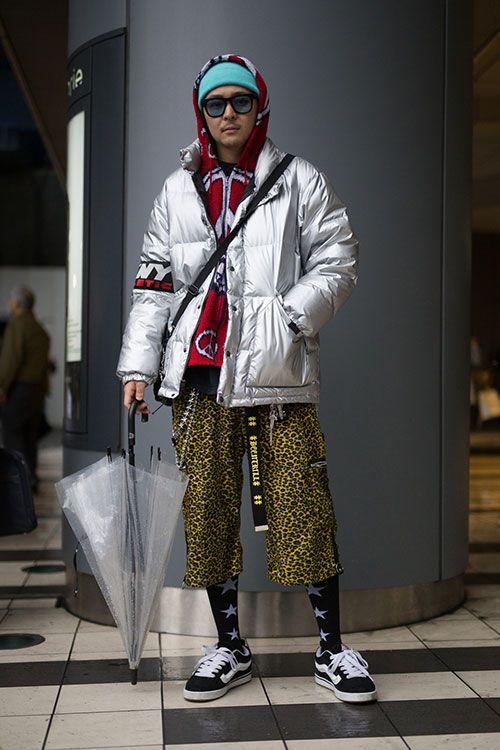 Streetstyle Tokyo: comment les Japonais.es sont-elles fringuées ? FOCUS : doudoune argentée. #streetstyle #inspiration #japanese #fashion #japan #tokyo