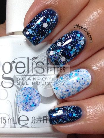 Gelish Trends - Feeling Speckled - Spring 2014
