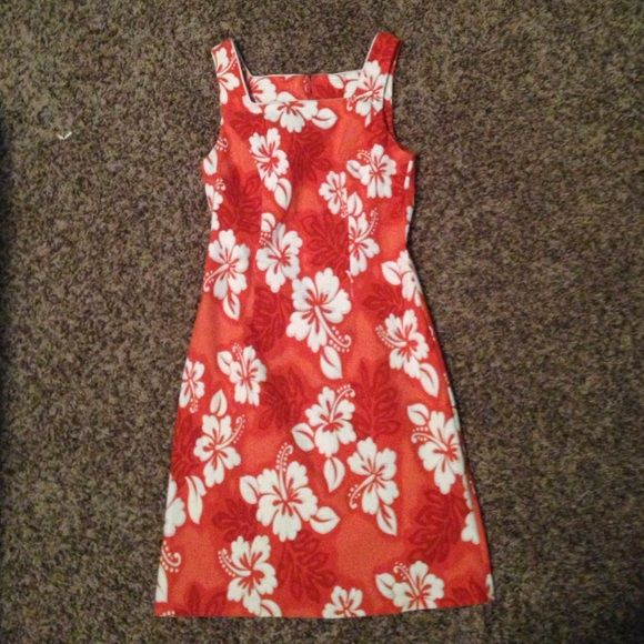 Hawaiian themed dress Brand new! Worn only once for a Halloween party :) in great condition! I love it a ton but just never get the chance to wear it Dresses