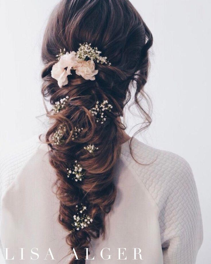 Wedding hair up plait. Hair extensions, wedding hair, hair styles.