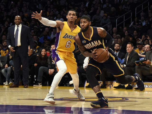 Pacers' decision to keep Paul George looms large for Lakers, Celtics