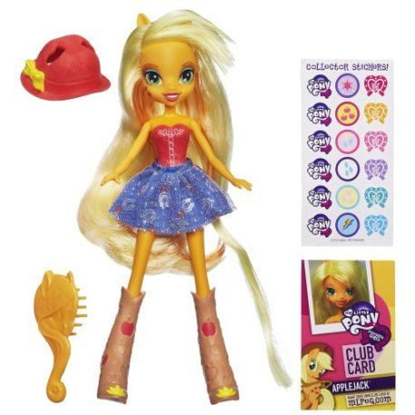 My Little Pony Equestria Girls Doll – Applejack. #mylittlepony