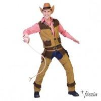 Déguisement Homme Gilet + Jambieres Cowboy