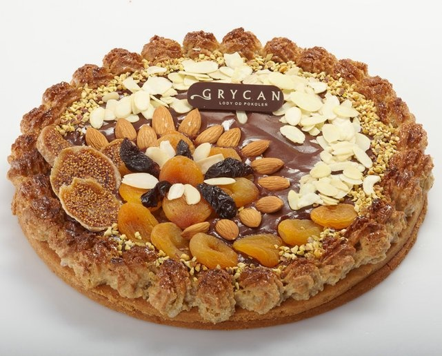 "polish traditional Easter cake-""Mazurek"" by Grycan"