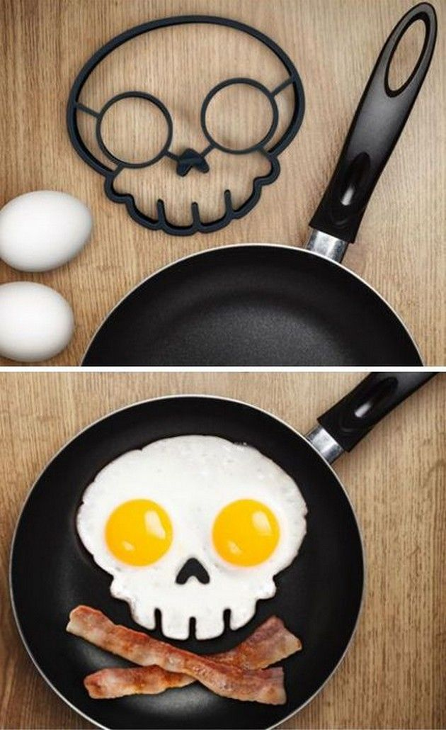 Skull Outline For Eggs