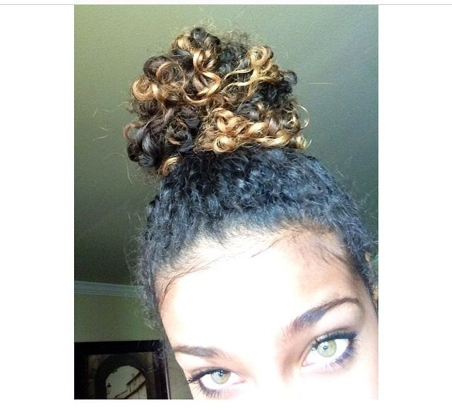 Corie Rayvon Natural Curly Hair Pinterest