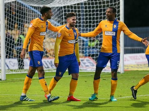 Match gallery: Stags 3-1 Crawley Town