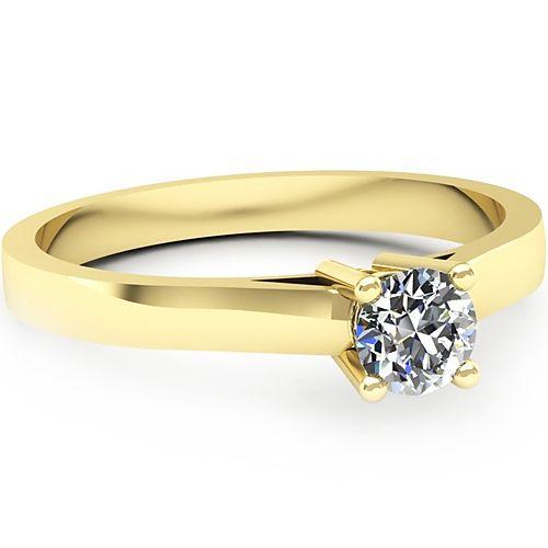 Inel logodna L37GDI Inel cu diamant