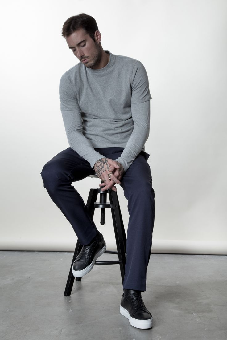 Fidel Tee // Henok Long Sleeve // Elias Trousers