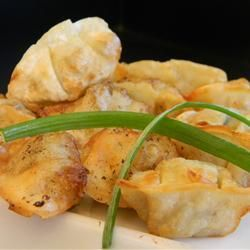 Yaki Mandu (Korean style fried dumplings) Recipe on Yummly. @yummly #recipe