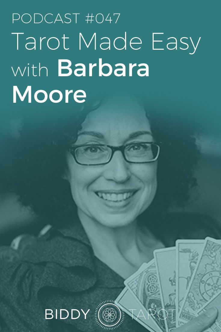 If you're into Tarot, chances are you've heard of Barbara Moore. Known as the Tarot Shaman, she is a prolific writer and one of one of the most published Tarot authors including multiple Tarot books and decks, including the Steampunk Tarot, Gilded Tarot, and Mystic Faerie Tarot. Throughout each of Barbara's publications, her grounded, practical approach to Tarot rings true.