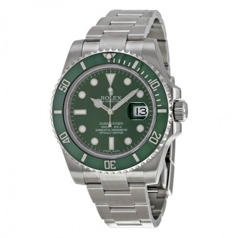 Rolex Submariner Green Dial Steel Men's Watch ($9,050)