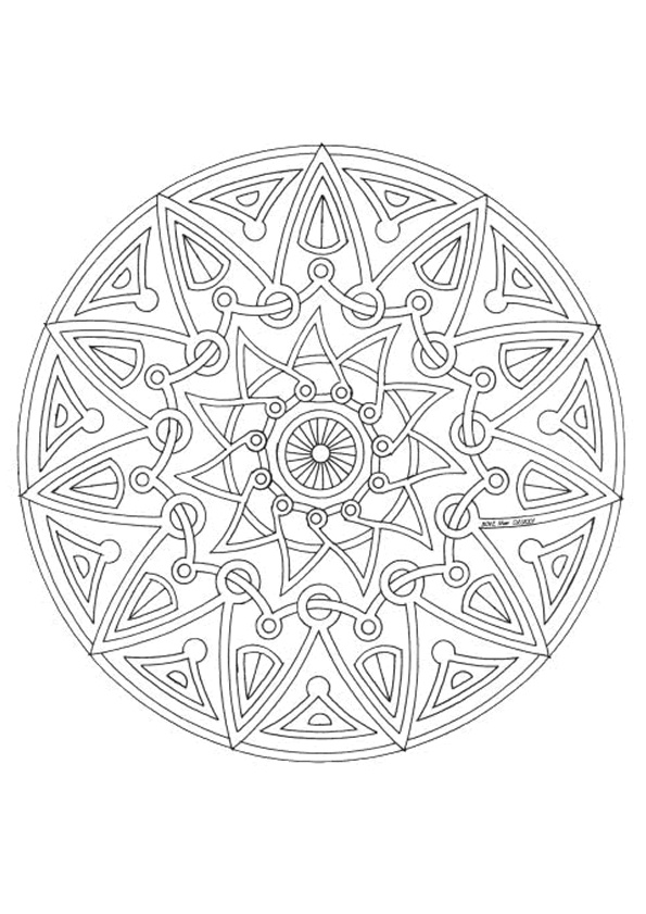 Volwassen Kleurplaten En Mandalas Mandala Kleurplaten Kleurplaten Voor Volwassenen