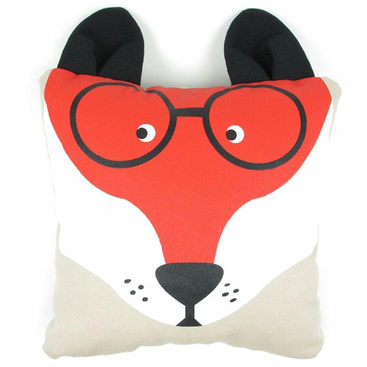 Nobodinoz Small Fox cushion