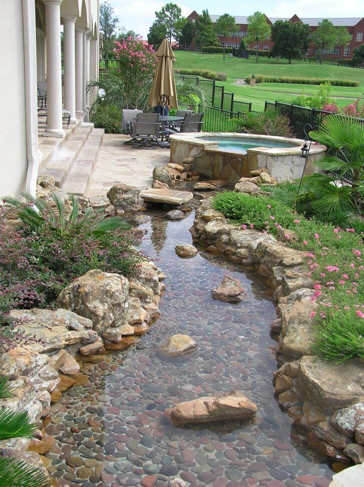 Gärten mit Steinen – originelle Ideen der Dekoration