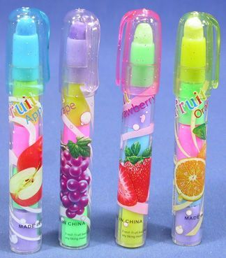 What was with the 90s and these stacked erasers and pencils? Lol