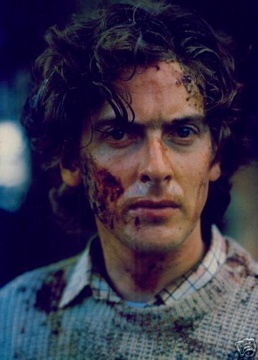 "Peter Capaldi as Angus Flint in ""Lair of the White Worm,"" which also prominently featured some guy named Hugh Grant"