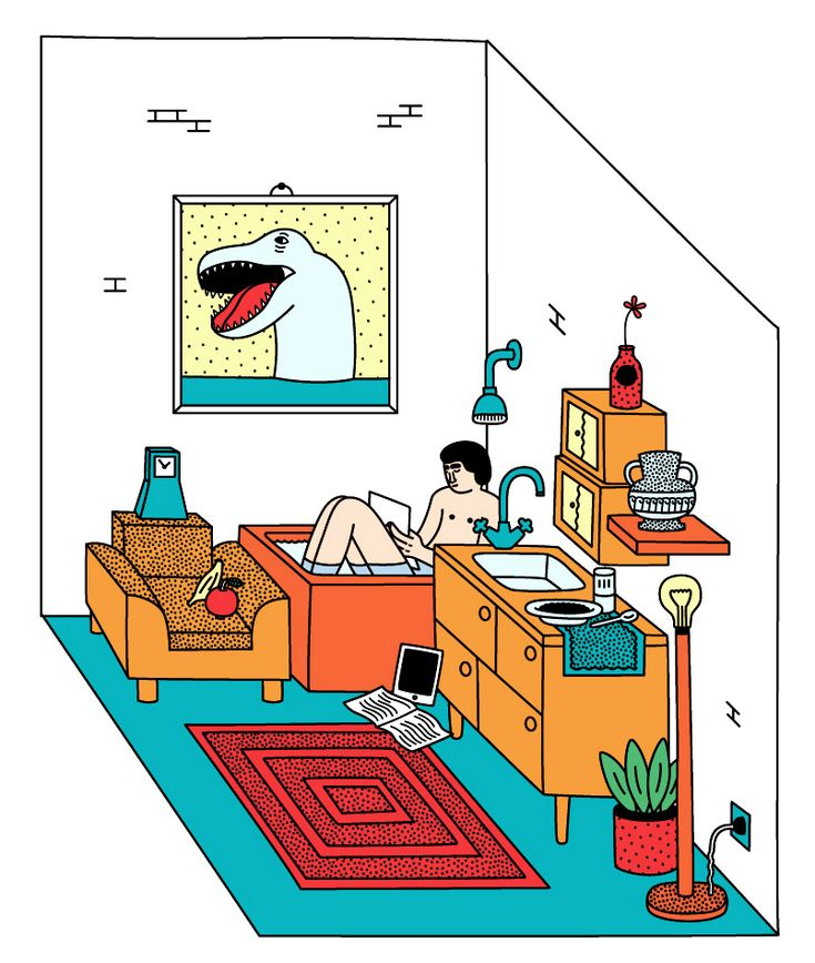 Martina Paukova mostra o dia a dia de maneira ilustrada