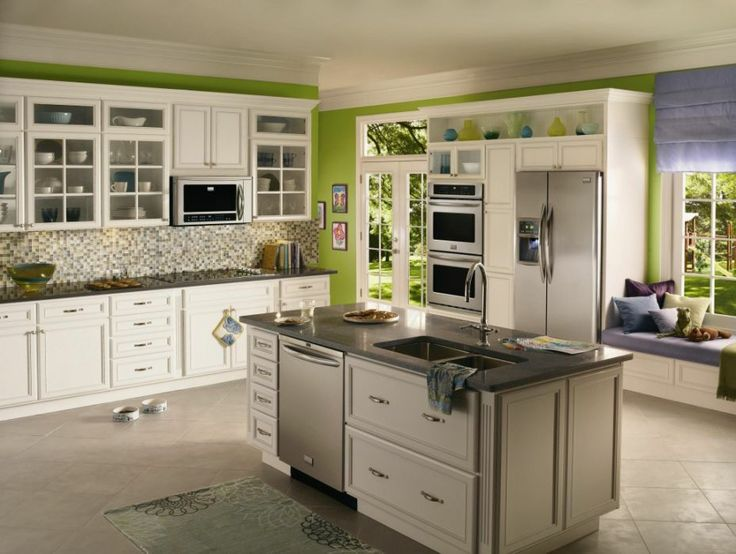 77 best white kitchen cabinets images on pinterest | antique white