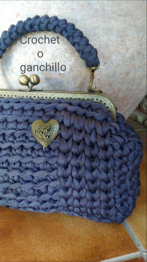 M s de 1000 ideas sobre bolsos hechos a mano en pinterest for Monedero ganchillo boquilla ovalada