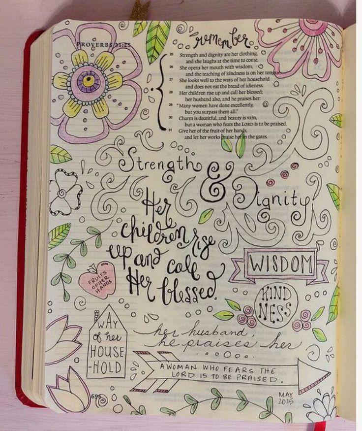 Bible Journaling Art Doodles