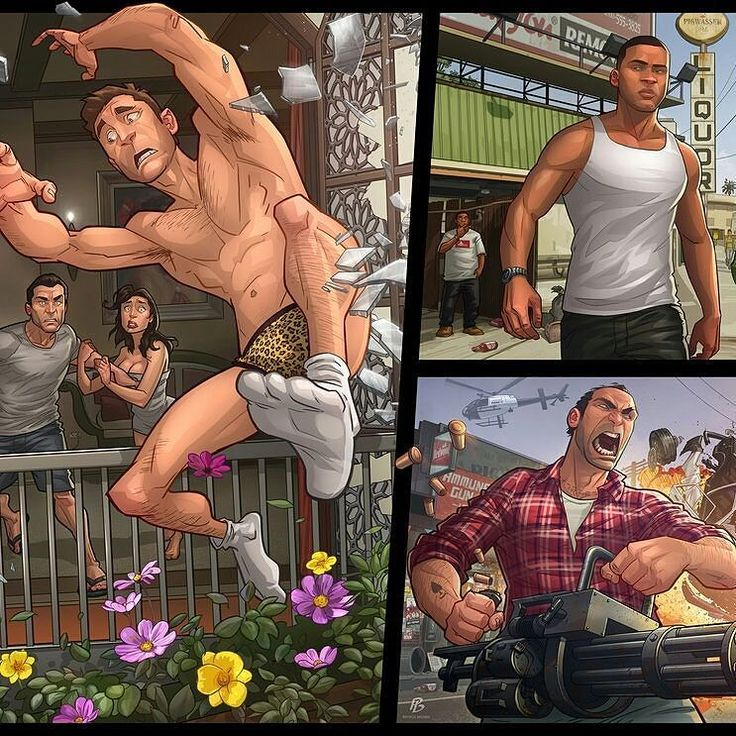 Started another game of Grand Theft Auto for the 50th time. Such a good story!  Grand Theft Auto V by PatrickBrown  #GrandTheftAuto #Gaming #Rockstar #GTA #Xbox #PS4 #GameArt #ConceptArt #Art #Comics #Drawing