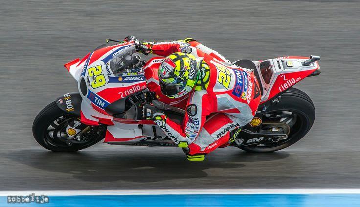 Andrea Iannone at Dutch TT Assen 2016 MotoGP