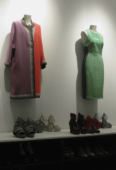 #PressDay at #StudioNext_ Live photo of the SHOP COLLECTION SS13 presentation