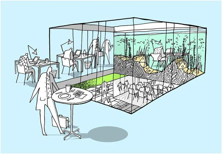 Denmark's Sport Fishing Association Headquarters & Activity Center Proposal / CEBRA
