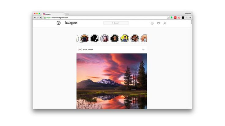 This Chrome extension lets you view Instagram Stories on your computer Image: raymond wong/mashable  By Raymond Wong2016-08-12 14:24:57 UTC  Instagram has always maintained that it is a mobile-first platform. And although there is a web interface its nowhere near as robust as the app.  Rather than wait for Instagram to roll out a web version for its new Snapchat Stories ripoff Stories one intrepid developer named Alec Garcia has created a Google Chrome extension to let you view Instagram…