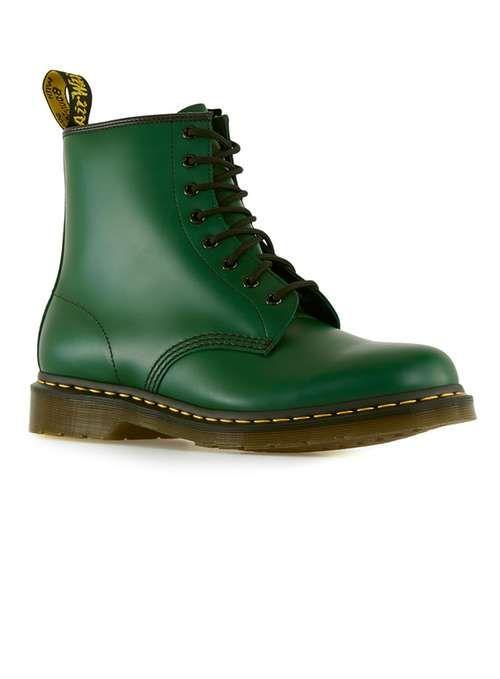 DR MARTENS Original Bottle Green Boots - Men's Boots - Shoes and Accessories - TOPMAN