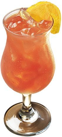 Texas Roadhouse's legendary Texas Peach Fuzz cocktail, one of this steakhouse's signature drinks.