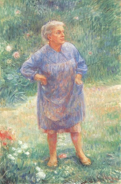 Nora Heysen self portrait; Doug Moran Prize 1988 finalist via moranprizes