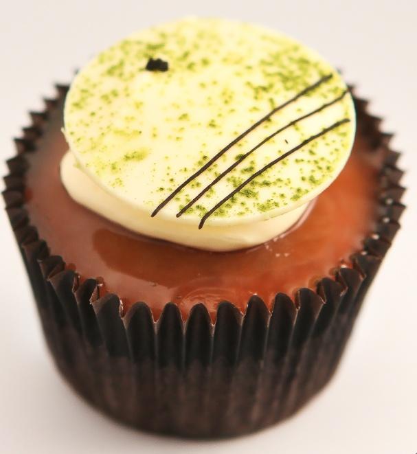 Green Tea Cupcakes by #Ghermez